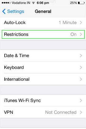 remove safari on iphone
