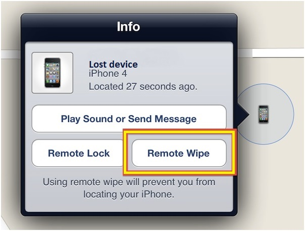 remote wipe iphone how to wipe iphone remotely when it s lost stolen dr fone 2960