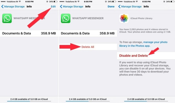how to delete apps on iphone-delete all