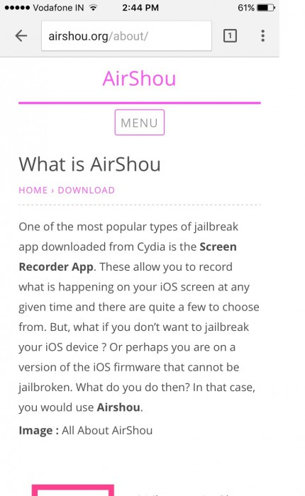 airshou official website