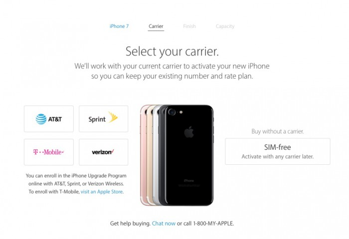 iphone carrier