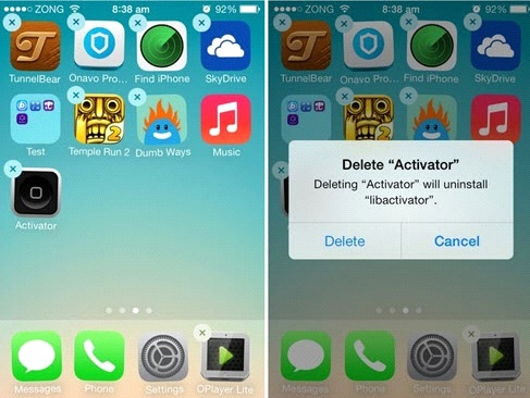 how to free up storage on iphone-delete iphone apps