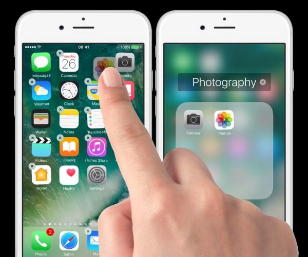 drag an app