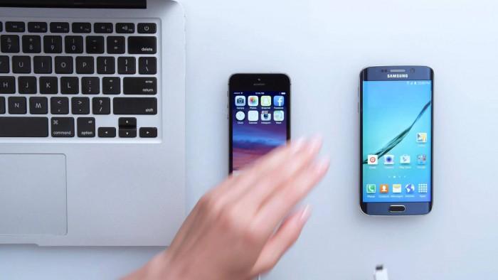 在Mac上切换手机