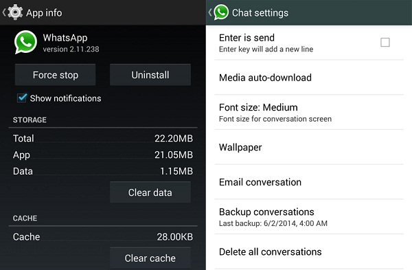 WhatsApp cannot be connected or WhatsApp is down