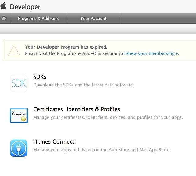 apple developer program membership