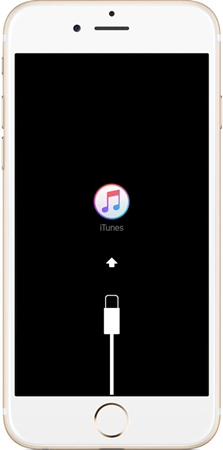 iphone se sigue reiniciando-conectarse a itunes