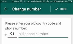Old WhatsApp Account on my New Phone-provide number
