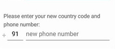 Old WhatsApp Account on my New Phone-add new number