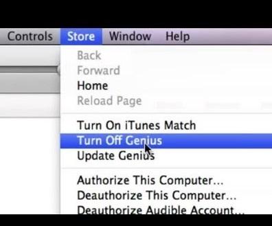 turn off genius
