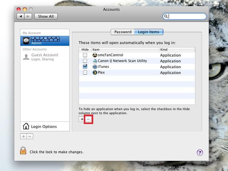 how to delete itunes mac