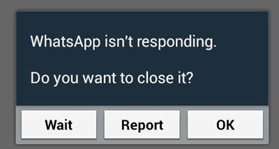 fix whatsapp problems-WhatsApp isn't responding