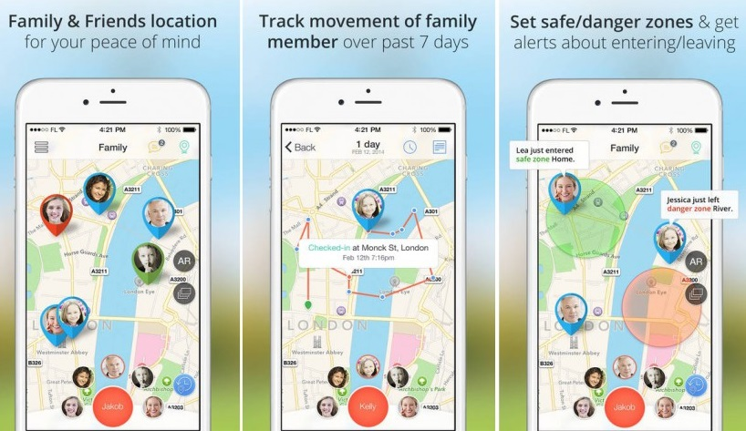 Top 10 iPhone Tracking Apps to Track iPhone Location