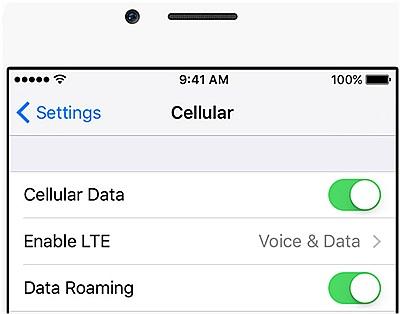 iphone network problem