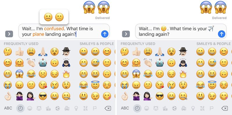 send imessage with emoji