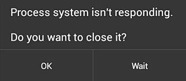 """""""Prozesssystem reagiert nicht"""""""