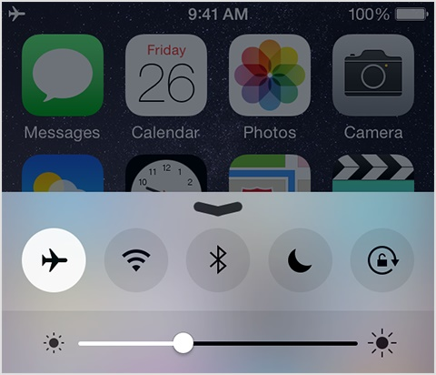 turn on airplay mode