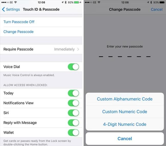 personalizar código alfanumérico