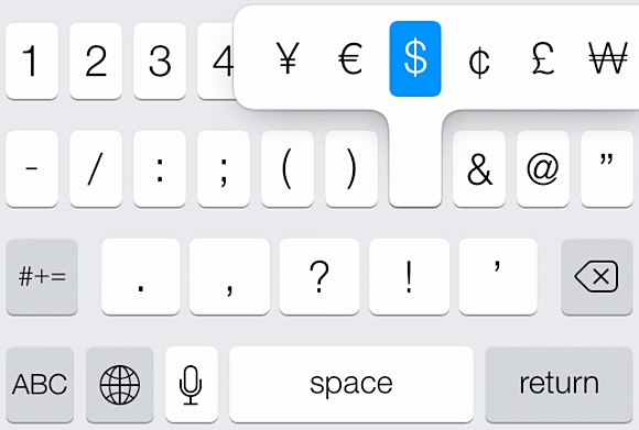 acceso rápido a símbolos