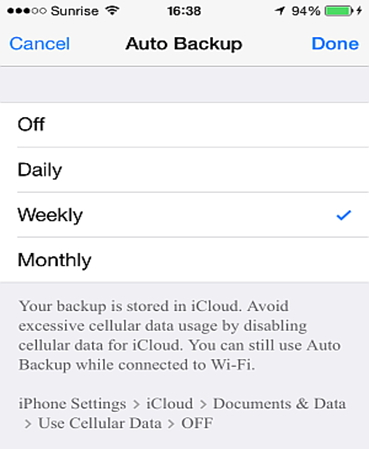 How to Backup Whatsapp messages to iphone-Automatic