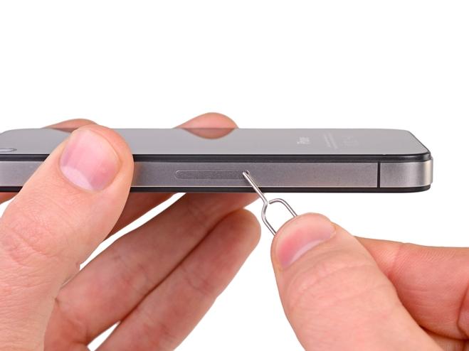 remove iphone sim card