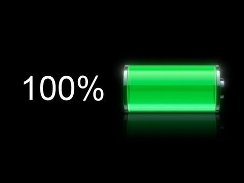 iphone 100% charged