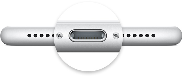iphone charge port