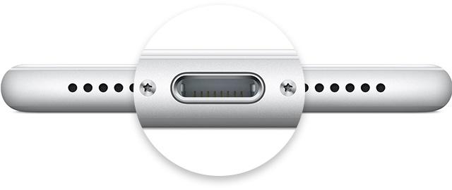 iphone充电端口
