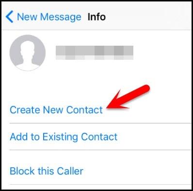 Neuen Kontakt anlegen