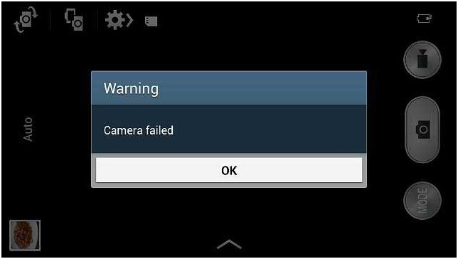 Solved] Warning: Camera Failed on Samsung Galaxy Devices