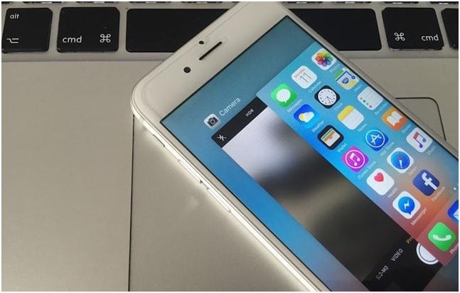 fix iphone camera black screen