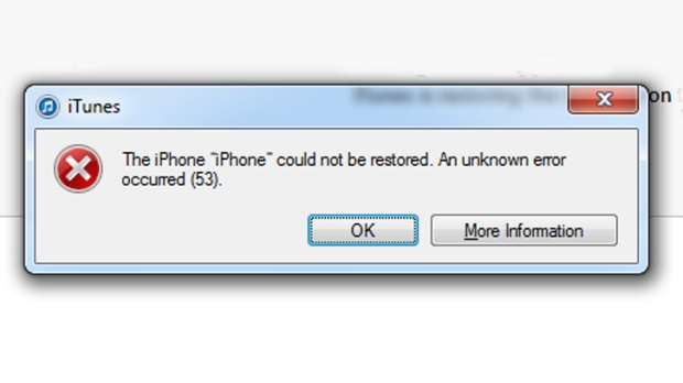 iphone error code encountered with iphone error 53 here are the real fixes 11825