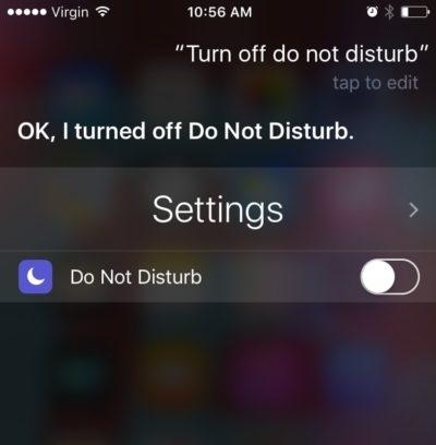 réparer iphone ne sonne pas - éteignez ne pas déranger