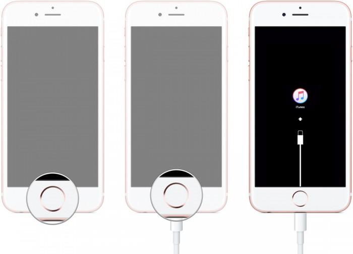 réparer l'iphone qui ne se met pas à jour en mode de récupération