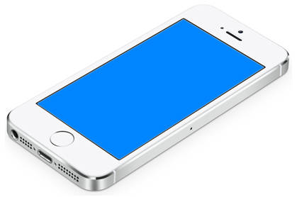 fix iphone blue screen
