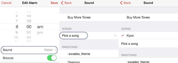 iphone alarm not working-change alarm tone