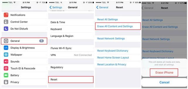 iphone alarm not working-factory reset iphone