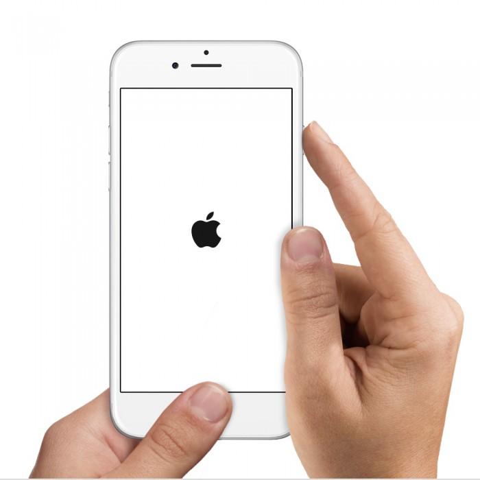 强行重启iphone
