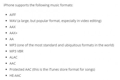 check if music format is supported