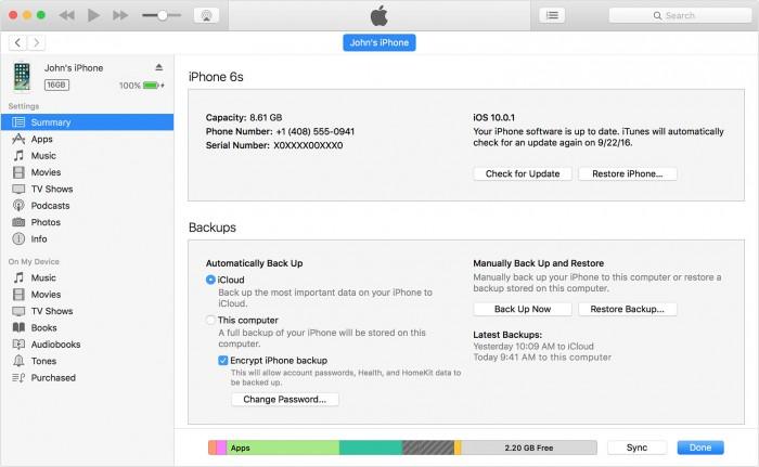 将iphone连接到iTunes