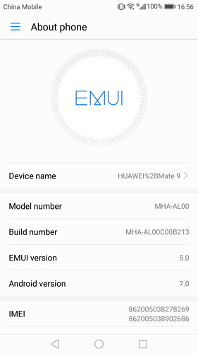 enable usb debugging on huawei mate 7/8 - step 2