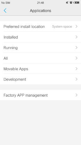 enable usb debugging on vivo - step 1