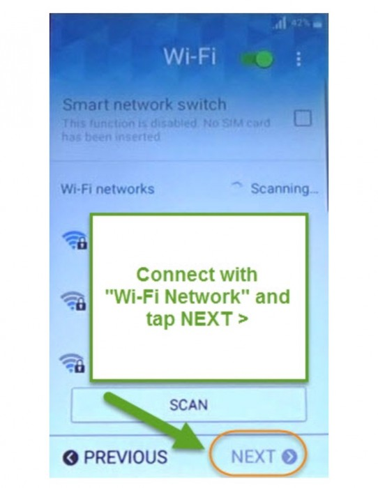 connect to your Wi-Fi
