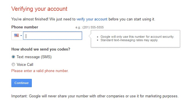 Takeaways to Bypass Gmail Phone Verification