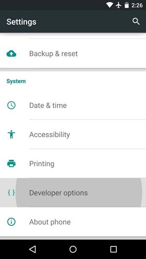 enable usb debugging on moto g - step 3