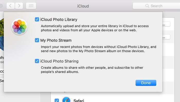condivisione foto icloud