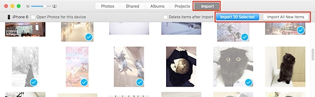 transfer iphone photos to mac using photo app