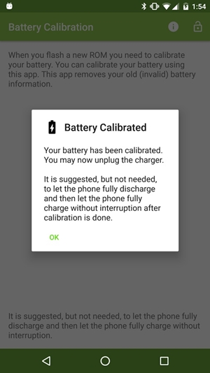 samsung j7 battery calibrated
