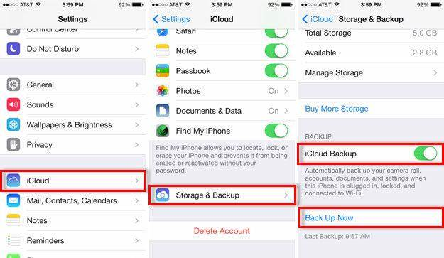 [Solved] How to Fix iPhone Won't Backup to iCloud?- dr.fone
