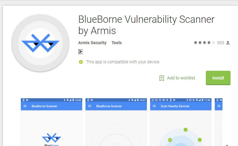 blueborne vulnerability scanner